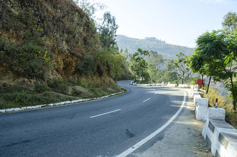 Chail to Tirthan Valley