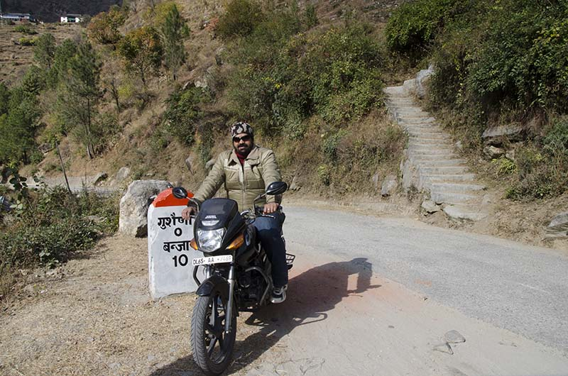 sightseeing in tirthan valley