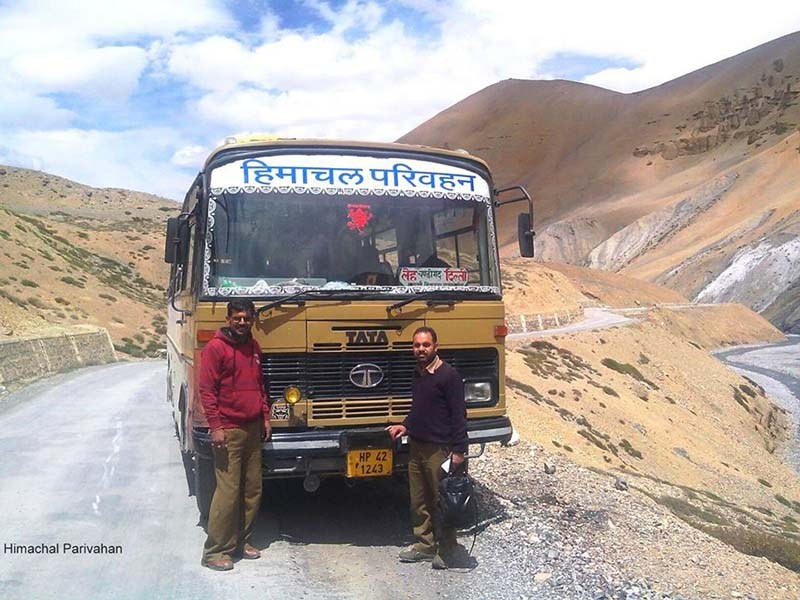 bus service in ladakh