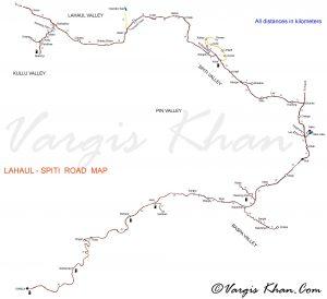 spiti valley itinerary