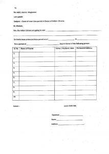 inner line permit for Ladakh