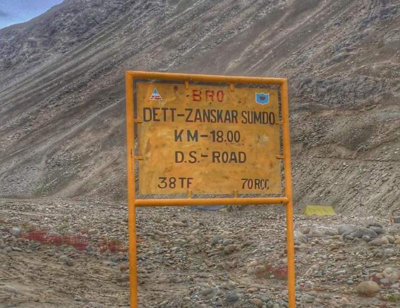 Darcha to Shinku La to Padum Road