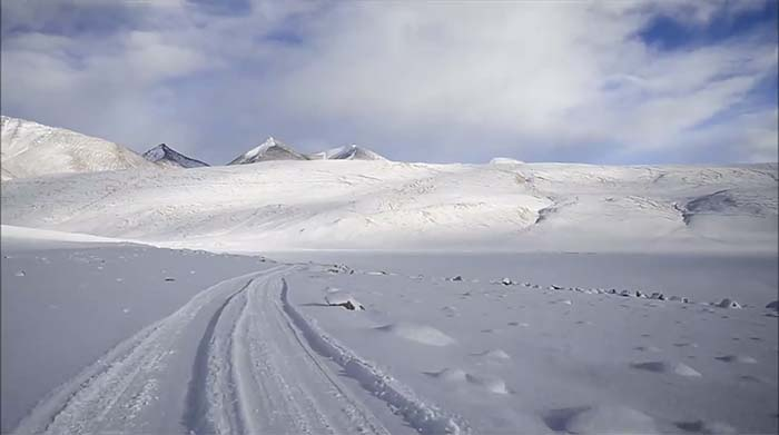 ladakh winter trip