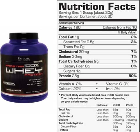 Ultimate Nutrition Prostar 100% Whey Protein Review ...