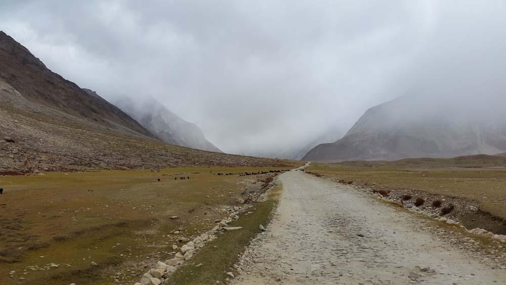 kargil padum road