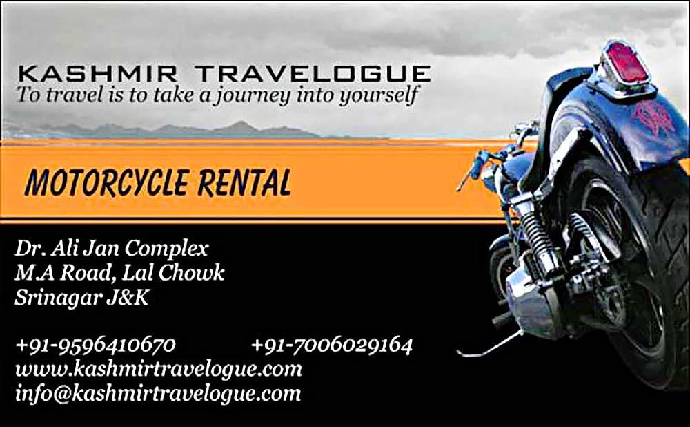 best bike rental in srinagar