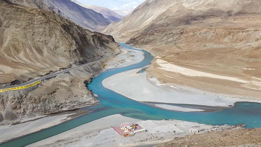 Indus Zanskar River Confluence
