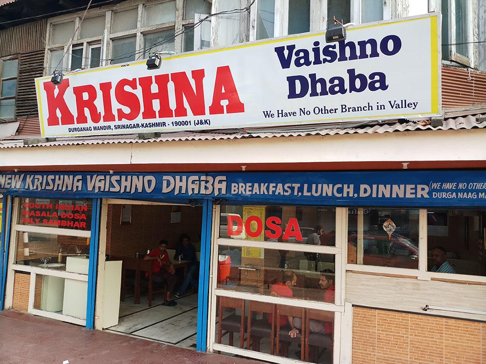 Vegetarian Restaurants in Leh Ladakh and Kashmir