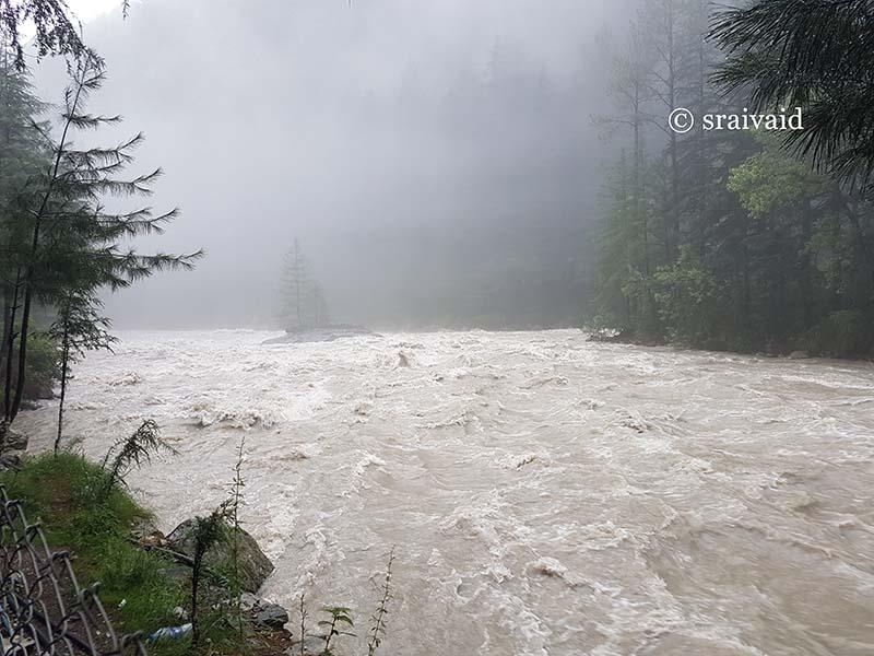 Parvati River at Kasol