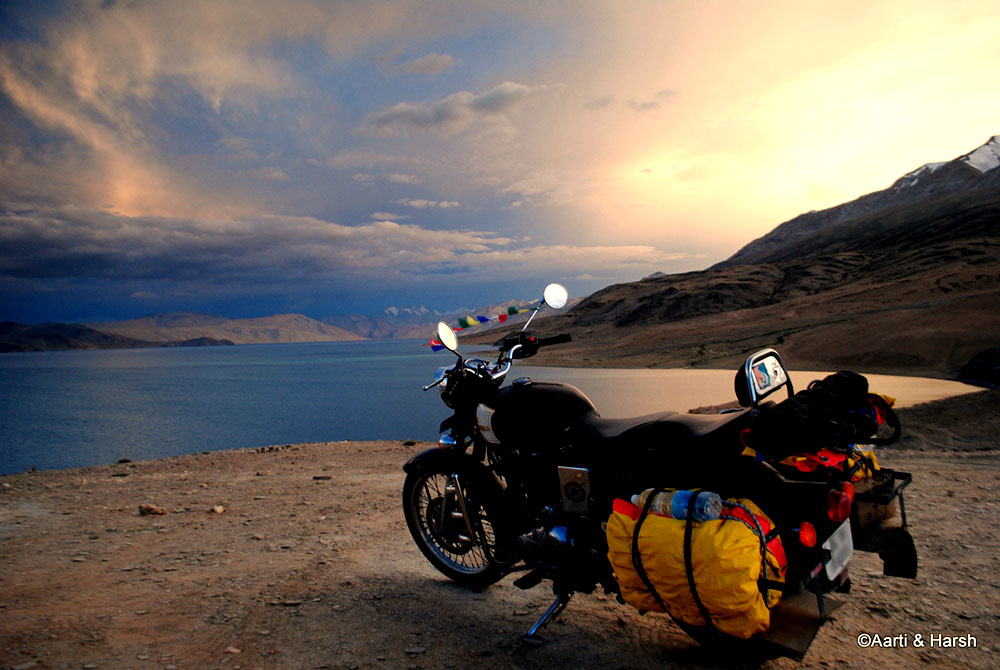 Tso Moriri Lake in Ladakh