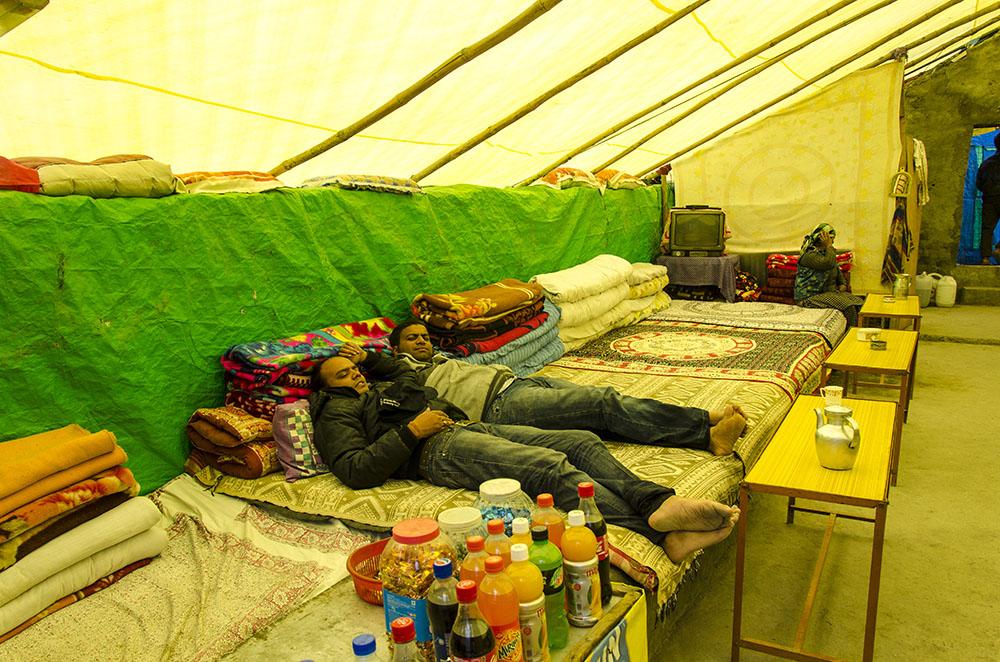 chadar tents
