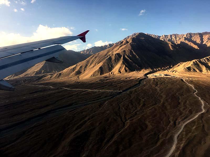 ladakh by flight