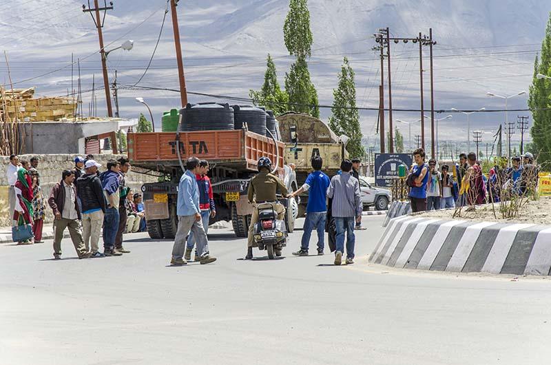 chakka jam in Leh