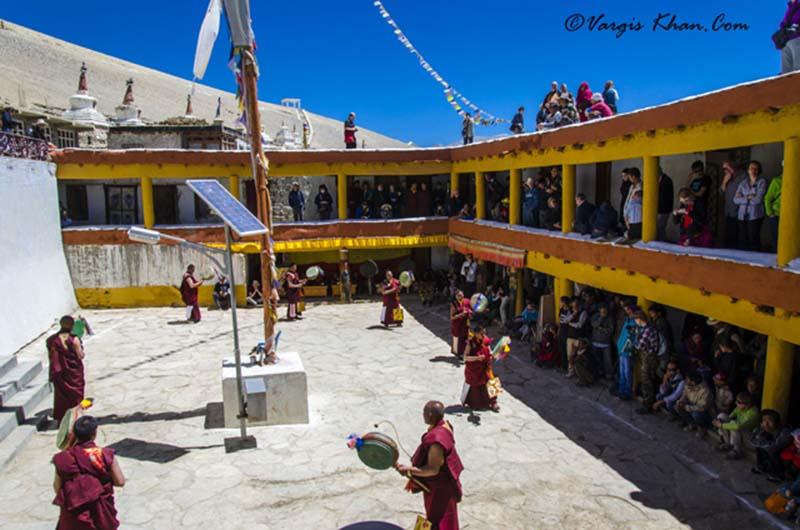 karzok monastery festival