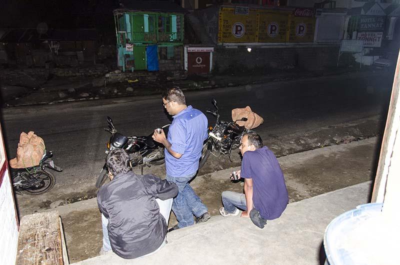 manali at night