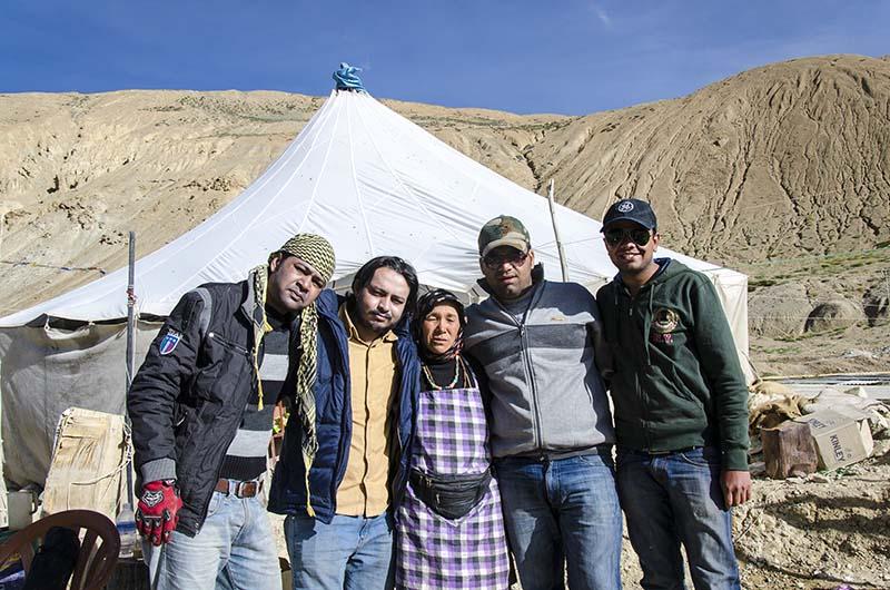 campsite at pang