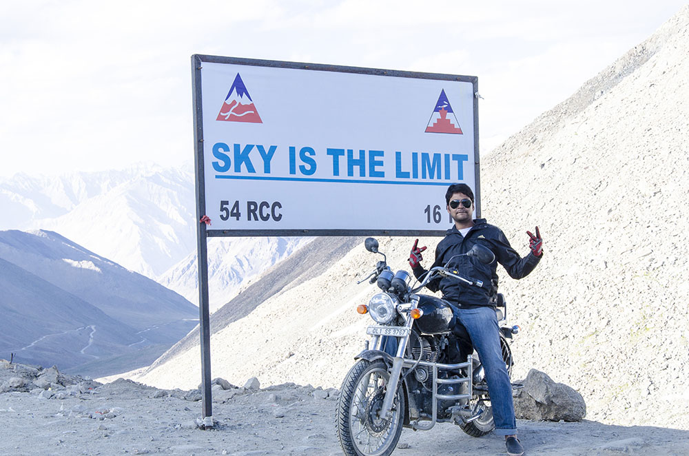 Transport Bike to Leh Ladakh