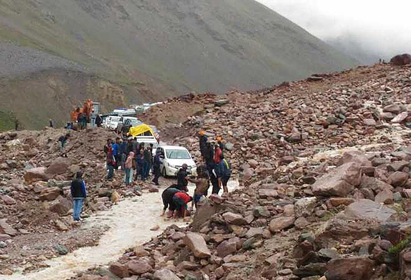 ladakh in monsoon