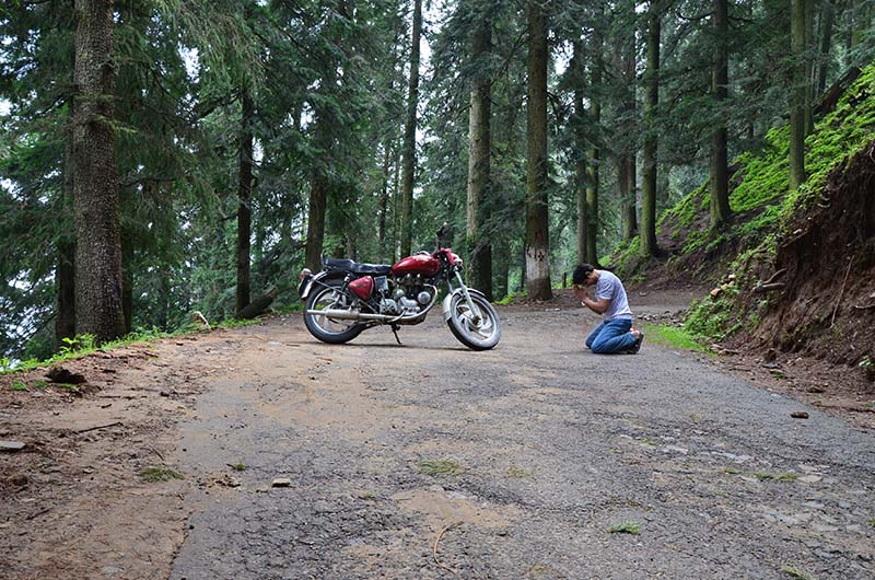 rent a motorcycle for spiti