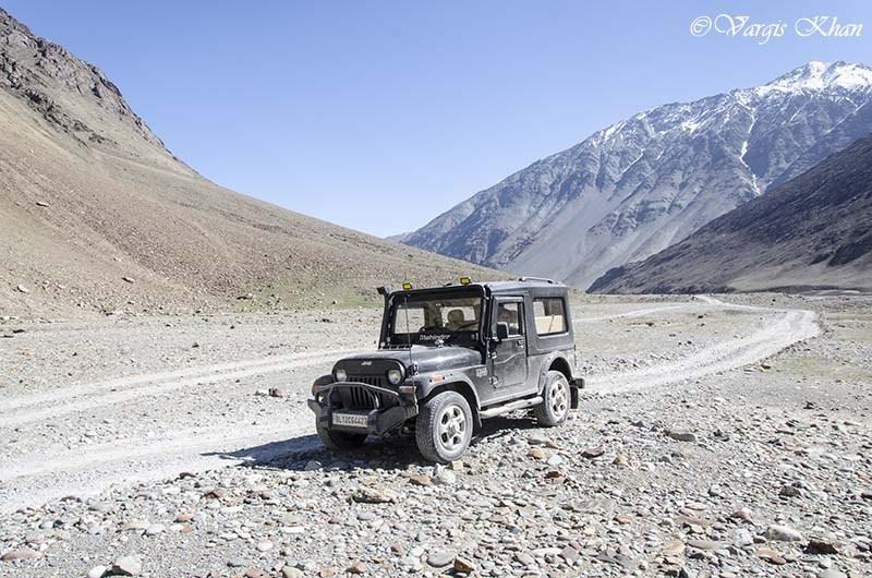 ladakh in a thar