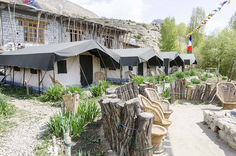 camp site at nako