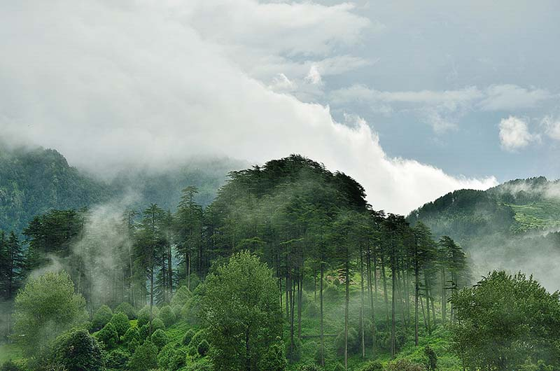 himalayas in monsoon