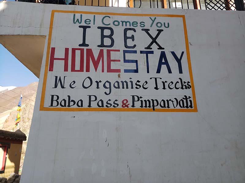 ibex homestay