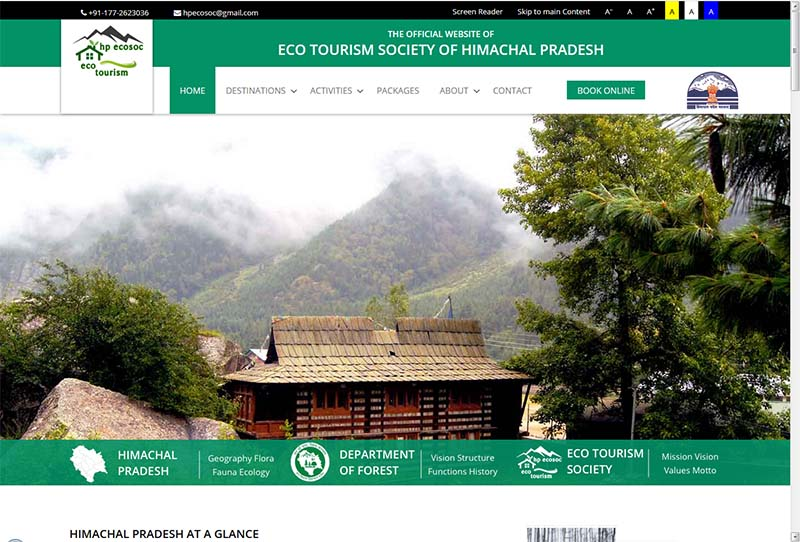 hp forest rest house online booking