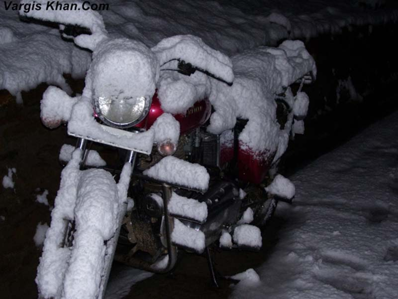 snowfall in narkanda