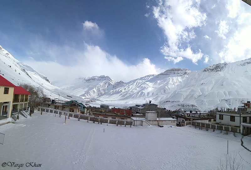 spiti valley in march