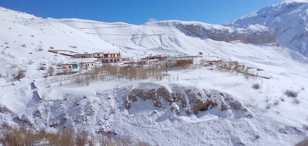 village in nubra valley