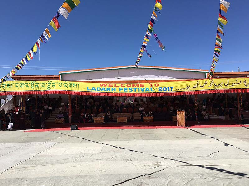 polo ground celebrations in leh