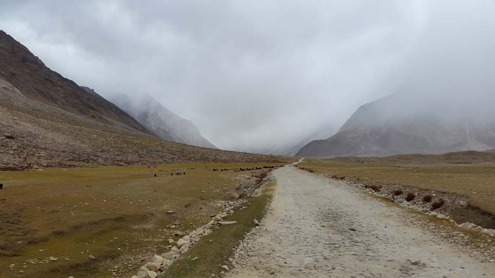 kargil to padum road