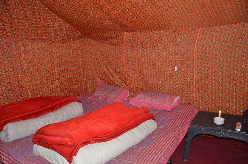 camping at jispa
