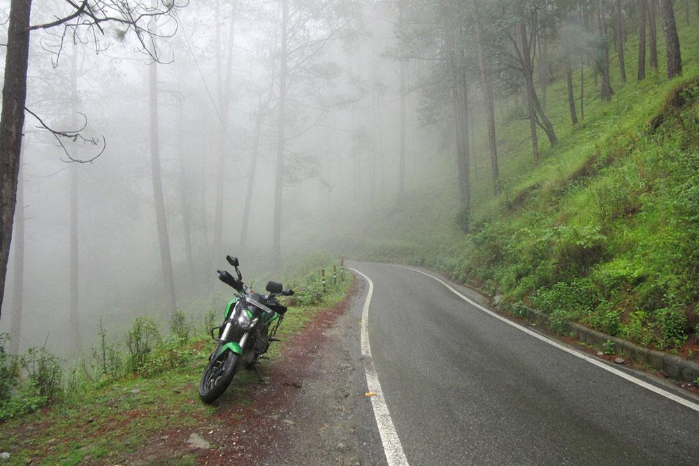 nainital in monsoon