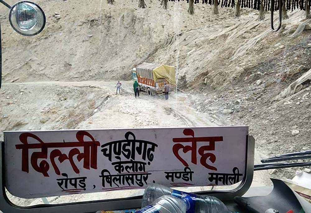 How to reach Ladakh by Bus