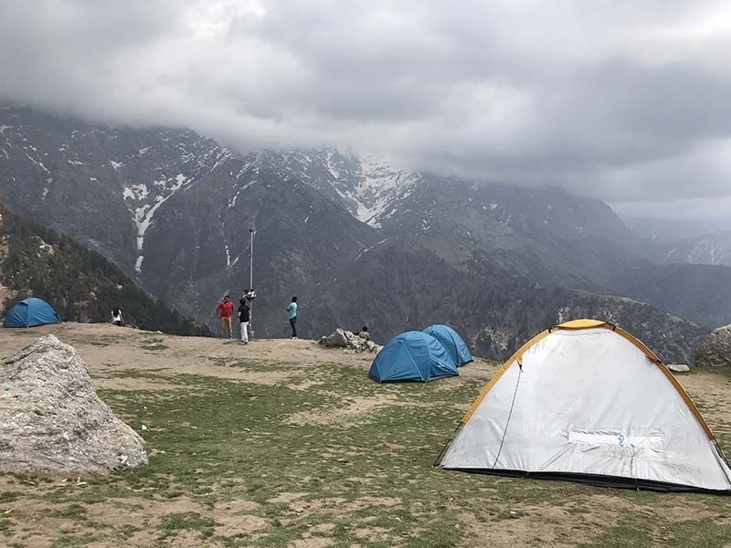 Trekking and Camping in Mcleodganj at Triund