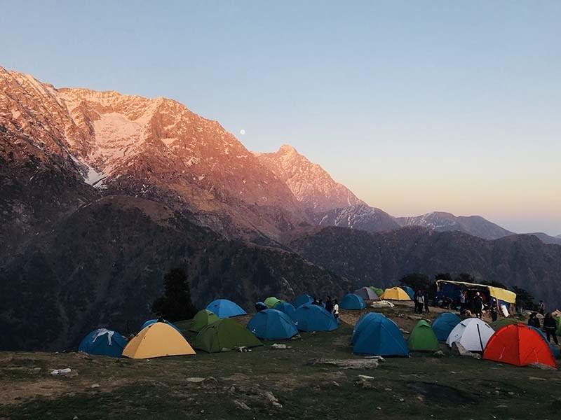 camping in mcleodganj