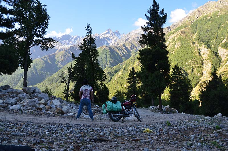 Bike Trip to Kalpa
