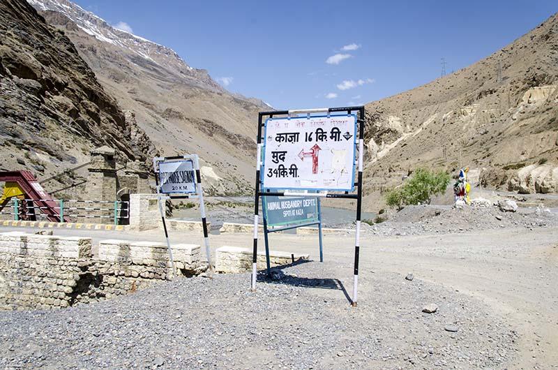 Kaza to Mud Village