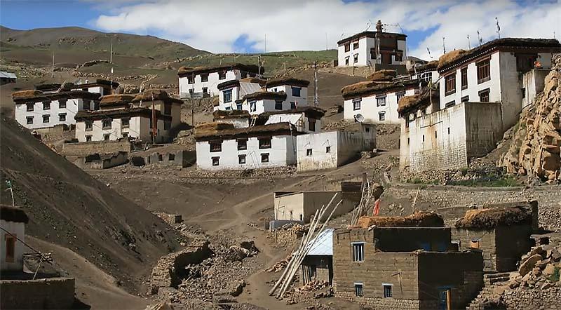 inside demul village