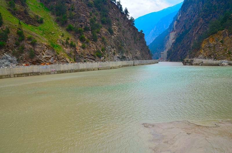karcham dam and lake