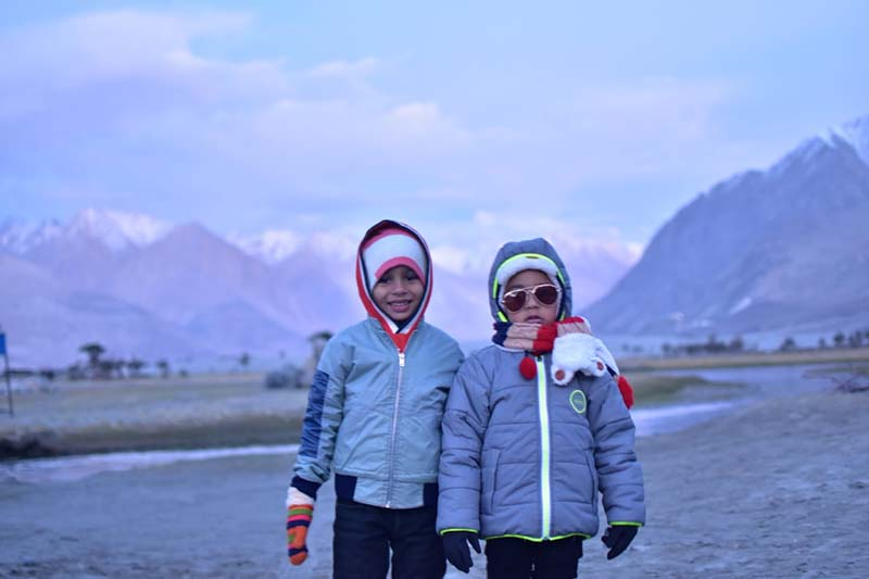 ladakh with kids
