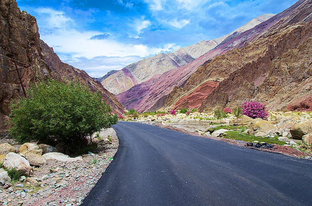 internal roads in ladakh