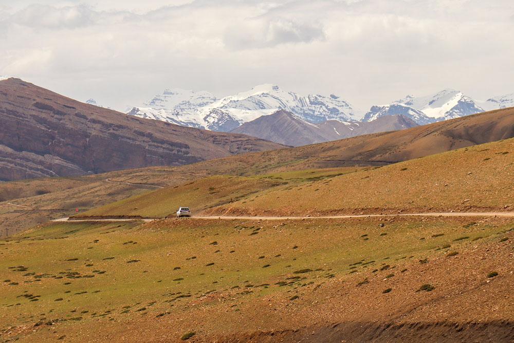 village roads around kaza