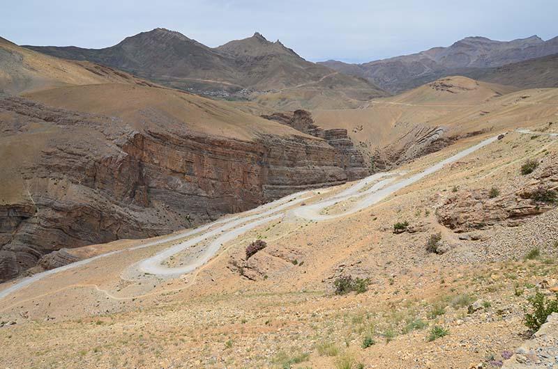 road to chicham village