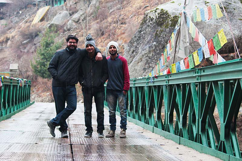 Bike Trip to Chitkul in Winter