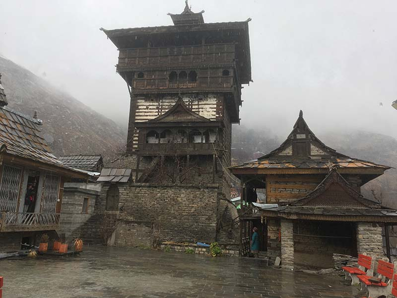 temples in chitkul