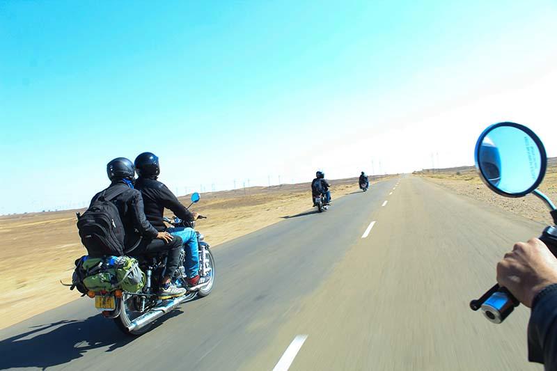 bike trip to jaisalmer