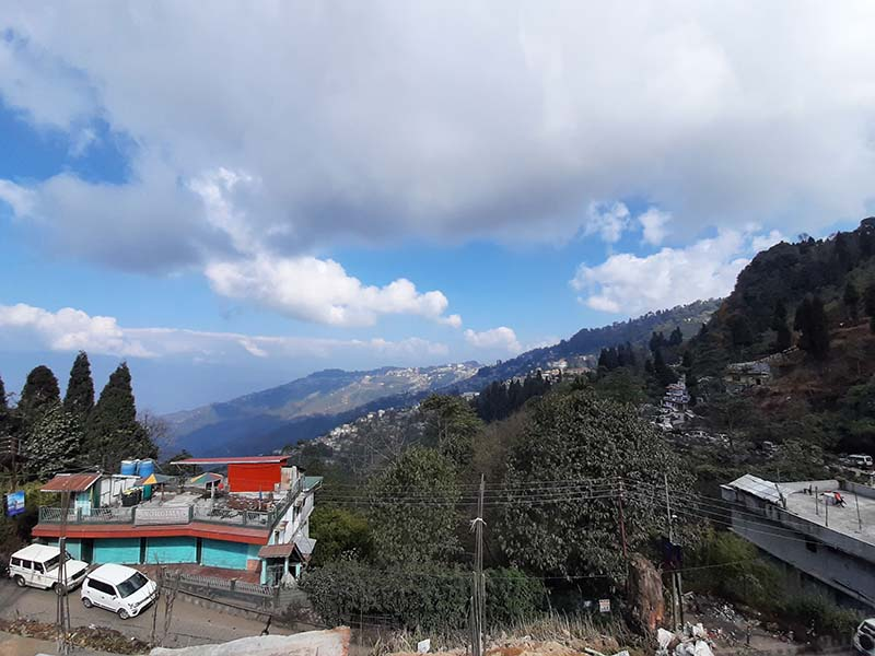 mountains of kurseong